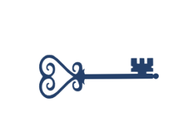 Blue Key Logo
